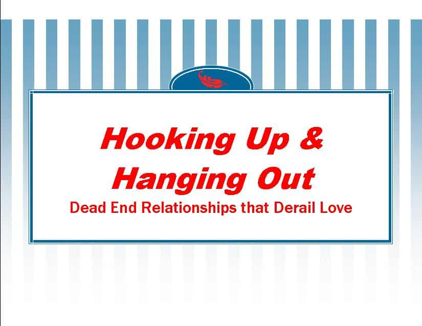 Hook up relationship meaning