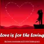 Dating Coach Tip: Love Is for the Loving