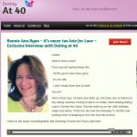 Dating after 40: Interview with Dating Coach Ronnie Ann Ryan