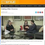Dating After Divorce Tips: TV Segment on CT Style WTNH