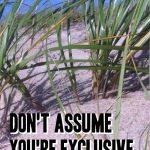 Understanding Men: Don't Assume You're Exclusive