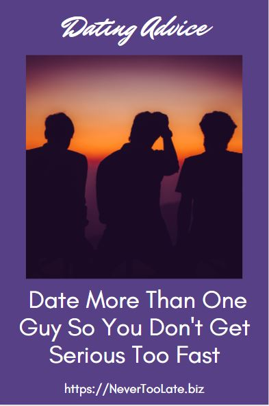 how to not take dating so seriously