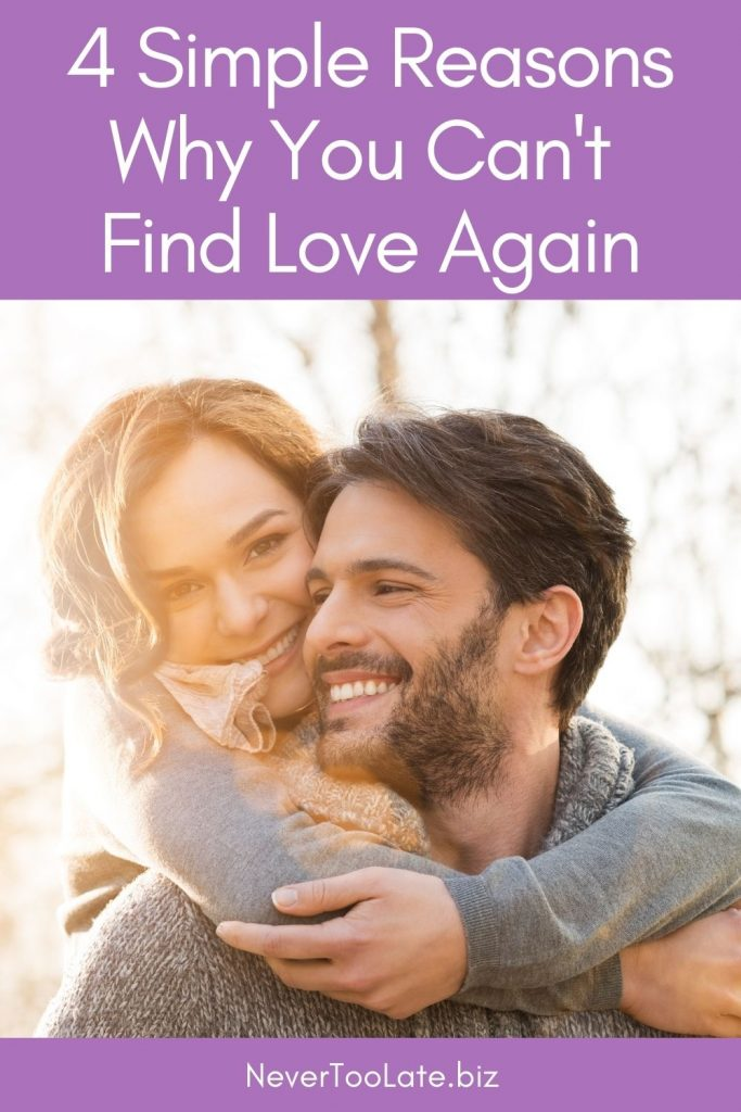 4 simple reasons why you can't find love