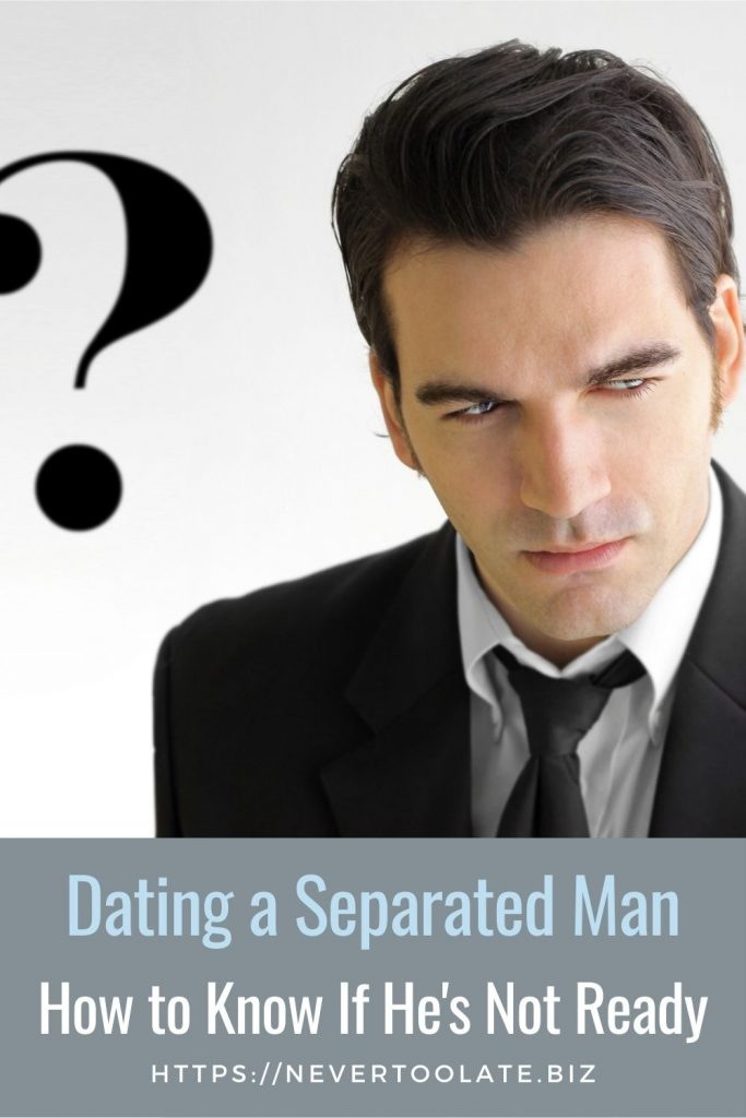 how to know if he's not ready to date