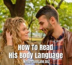 Read body language attraction