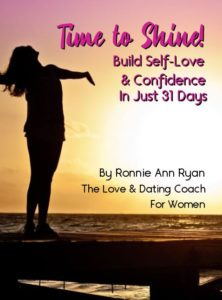 Time to Shine program - graphics for self love and confidence building program