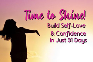 program graphic to build self love and confidence