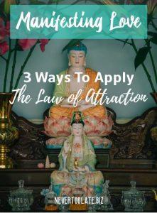 manifesting love - 2 Buddhas
