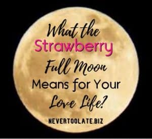 strawberry full moon