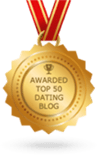 Awarded Top 50 Dating Blog