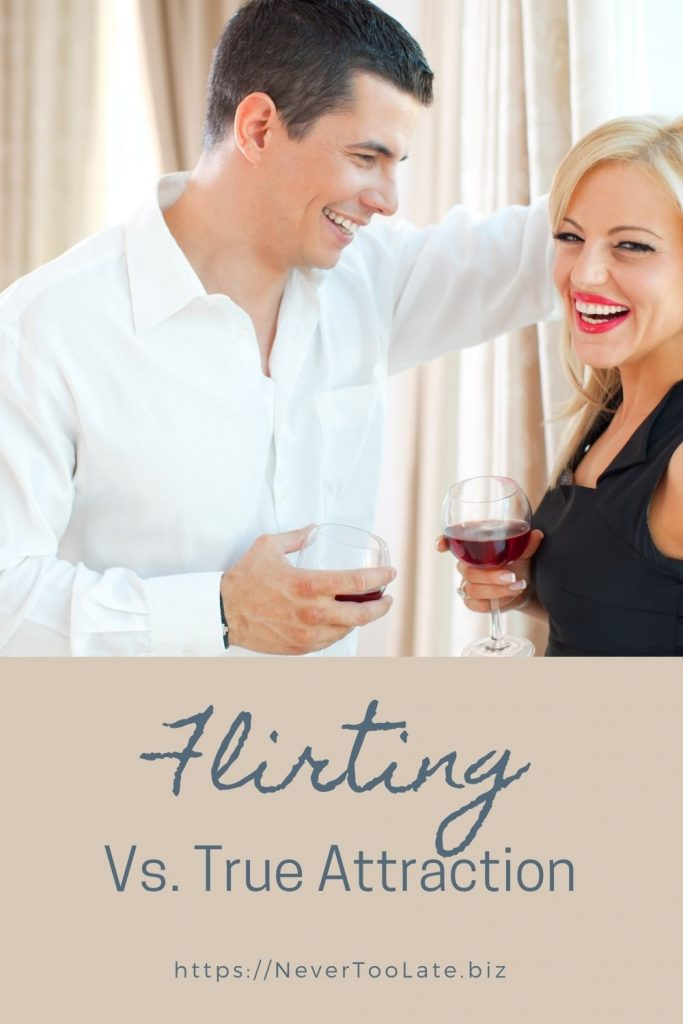 what's the difference between flirting and attraction